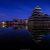 春朝の国宝松本城