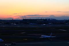 羽田空港PM16:31