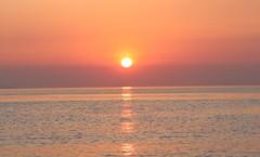 新緑の夕日3 双海