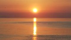 新緑の夕日1 双海