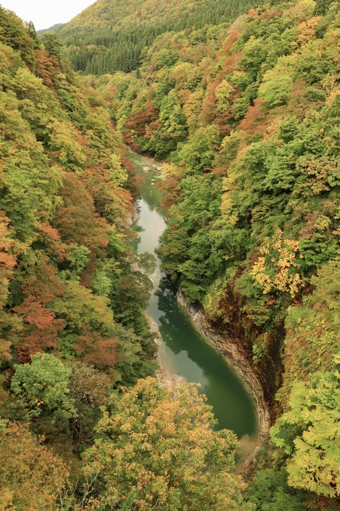 秋田湯沢市 子安峡 2