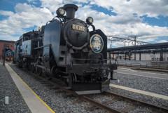 SL大樹蒸気機関車2