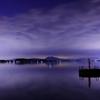 霞ヶ浦の夕景