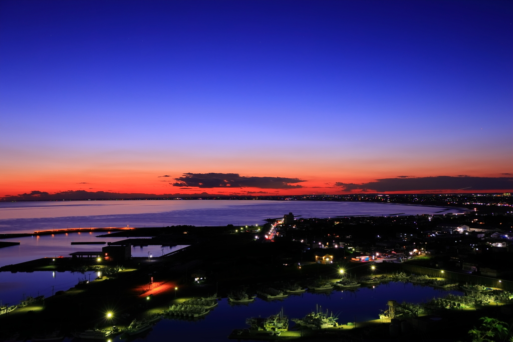 夕景・・・漁港