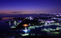 ブルーアワー漁港