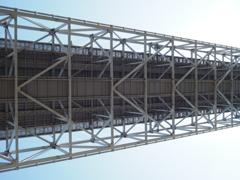 因島大橋のお腹