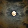 中秋の名月(バンコクの空から)