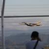 小松空港 低めで離陸 AGS