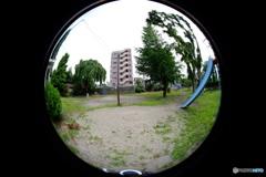 F町の公園(パノラマ素材 1/10 )