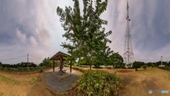 電波塔の風景・夏 その1