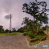 電波塔の風景・夏 その3