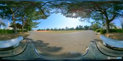 早春の公園(3) Gear360版