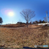 電波塔の風景(1) Gear360版