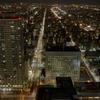 札幌で一番高いビルから、札幌で一番高いマンションを撮る