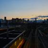 苗穂駅(札幌市東区)のマジックアワー