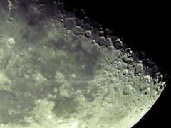 月齢21.9(下弦の月)・・・換算5,760㎜相当