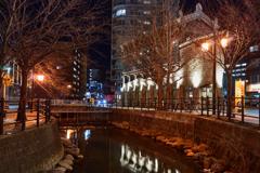 鴨々川・・・ノスタルジックな夜景2