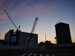 再開発・・・タワーマンションの建築進む