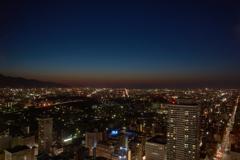 JRタワー展望室T38のマジックアワー・・・通算2,000枚記念♪