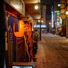赤提灯のレトロストリート