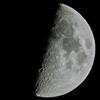 月齢7.1(上限の月)