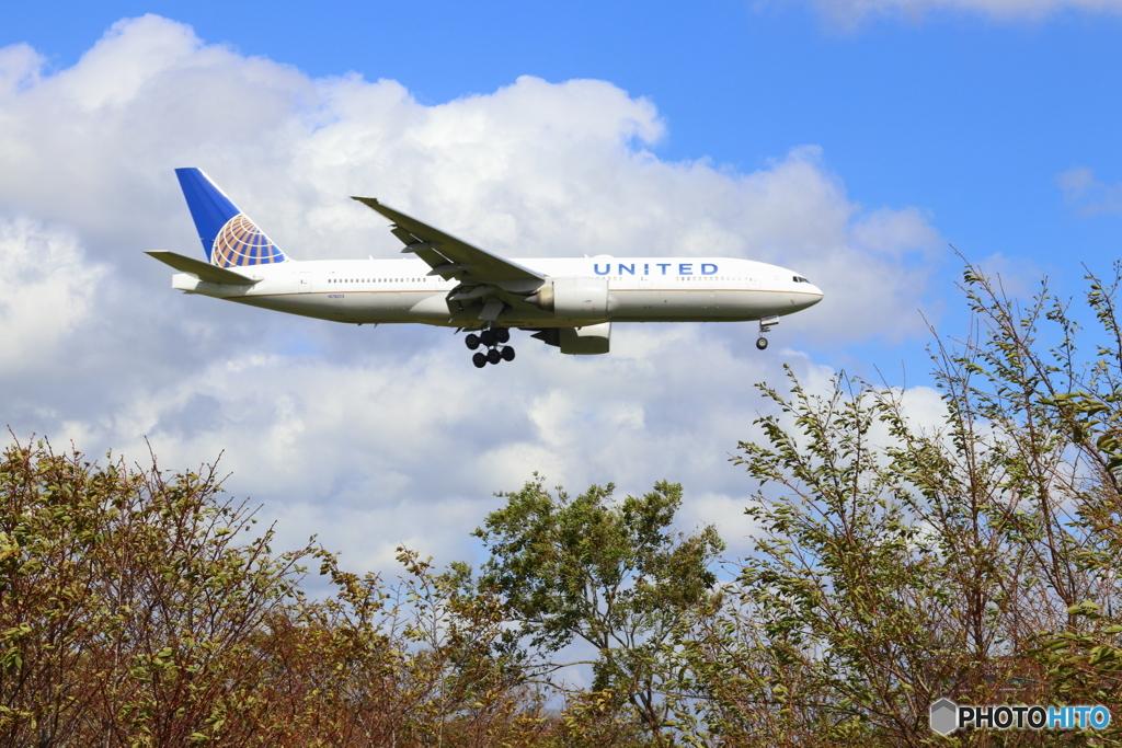ユナイテッド航空  Boeing 777-224ER