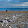 夕方 砂浜