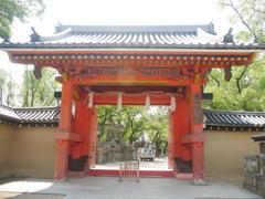 西宮神社 朱門