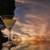 おうちdeフォト「夕焼けに乾杯」