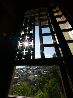 窓から見る街