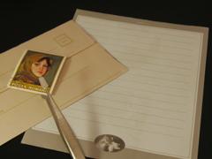 おうちdeフォト「書けなかった手紙」