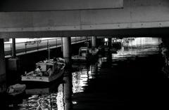 回想録(College Days)068「橋の下での談笑」