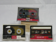 おうちdeフォト 番外編「思い出テープ04 maxell UDⅡ」
