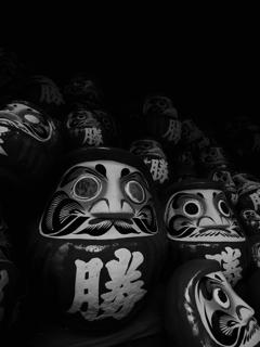勝尾寺の達磨