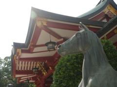恵比寿の神馬