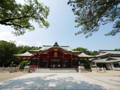 西宮神社 拝殿 全景