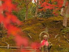 地蔵様と秋
