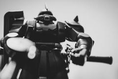 シャア専用ザクⅡ(モノクロ)