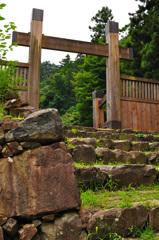 八王子城跡の入り口