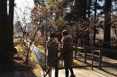 北口富士浅間神社の日の出