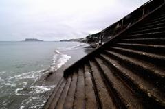 湘南 七里ガ浜の海岸
