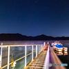 夜の芦ノ湖②