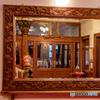 日光金谷ホテルの大きな鏡