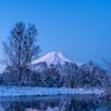 富士 水鏡
