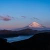 富士 輝く湖
