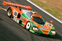 #55 Mazda 787B 1991 LeMans Winner