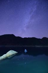 またまた湖と星。②