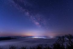 雲海と星。③