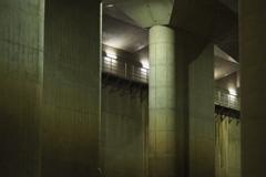 埼玉の地下神殿。3