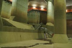 埼玉の地下神殿。9